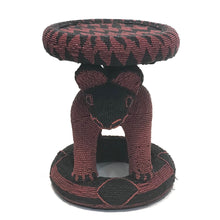 Load image into Gallery viewer, Bamileke Beaded Stool