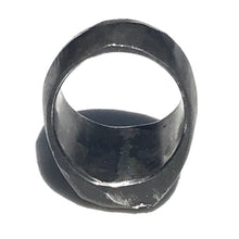 Load image into Gallery viewer, Oxidized Signet Ring