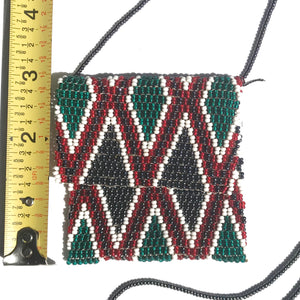 Maasai Beaded Necklace Pouch