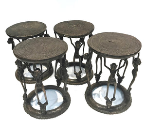 Bronze Ceremonial Stool