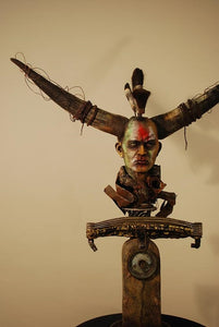 """Warrior"" Sculpture"