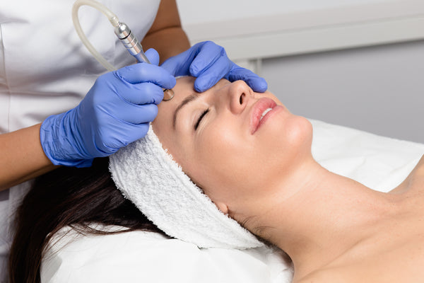 Microdermabrasion Face Treatment