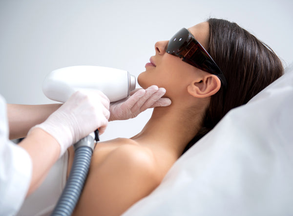 Laser Hair Removal for Ball of Chin