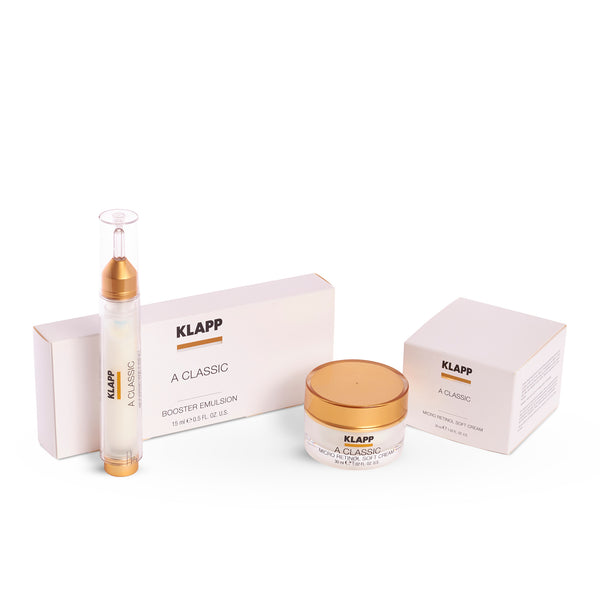 KLAPP - Vitamin A Micro Retinol Soft Cream & Vitamin A Booster Emulsion