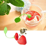 Infusore Fragola in silicone