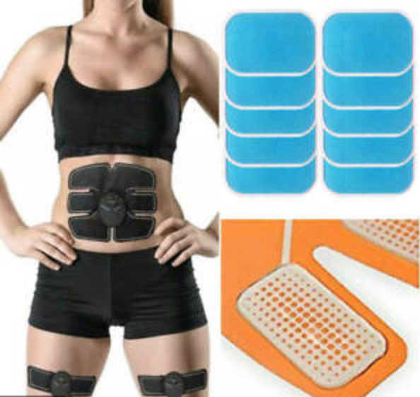 Replacement Gel Pads For EMS Abs Simulator