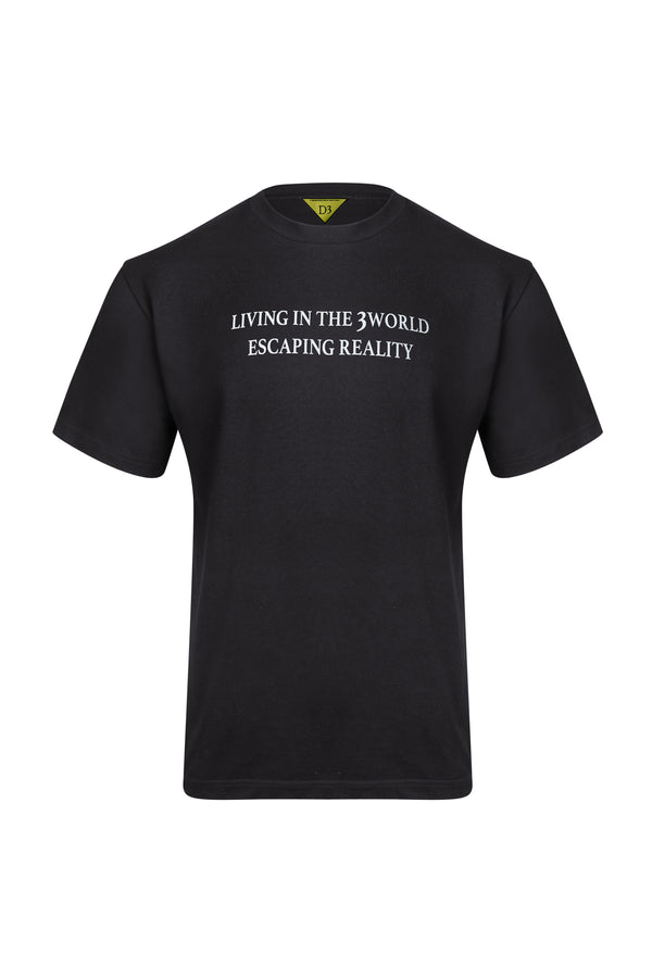 D3 | Living in the 3 World T-Shirt