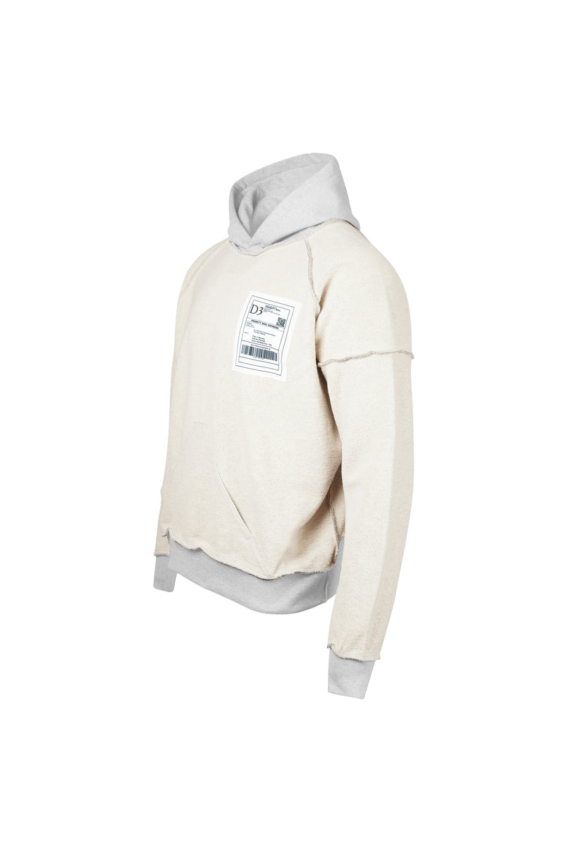 D3 | Shipping Label Hoodie