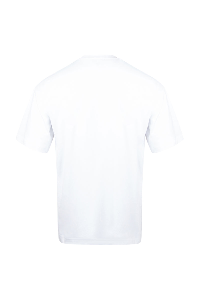 D3 | Shipping Label T-Shirt (White)