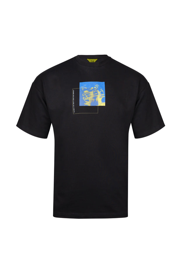 D3 | Escaping Faces T-Shirt