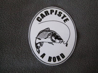 STICKER CARPE N°5 - la boutique du carpiste