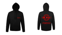 SWEAT A CAPUCHE LOGO CARPE 6 PERSONNALISE - la boutique du carpiste