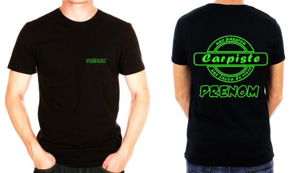TEE SHIRT LOGO CARPE 11 PERSONNALISE - la boutique du carpiste