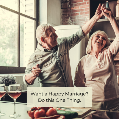 Want a Happy Marriage? Do this One Thing