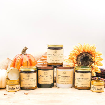 Your Candles for Fall Are Here