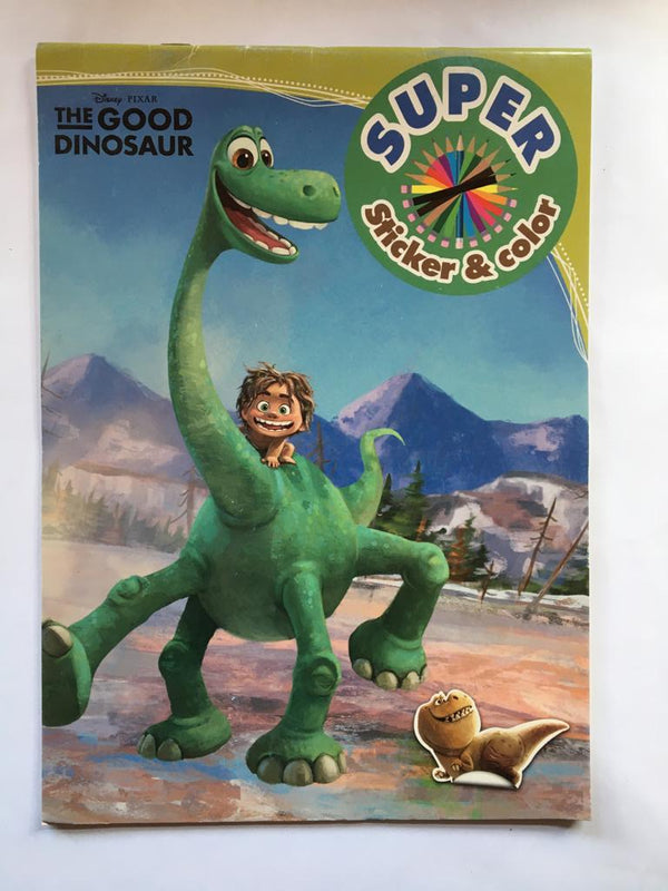 The Good Dinosaur. Carte de colorat & stickere
