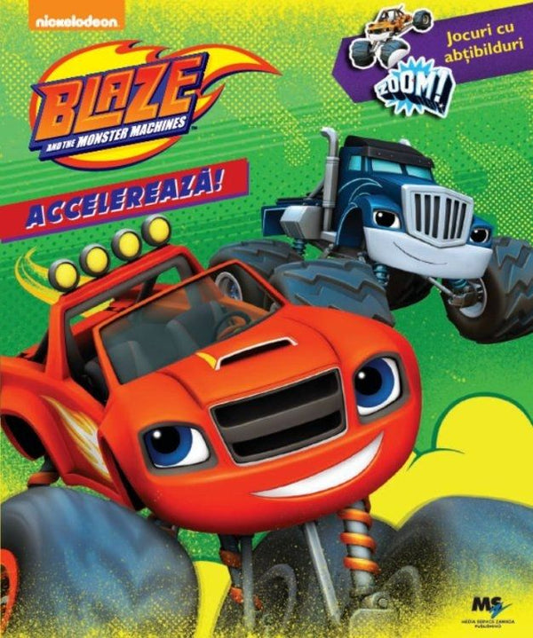 Blaze and the Monster Machines, Jocuri si abtibilduri