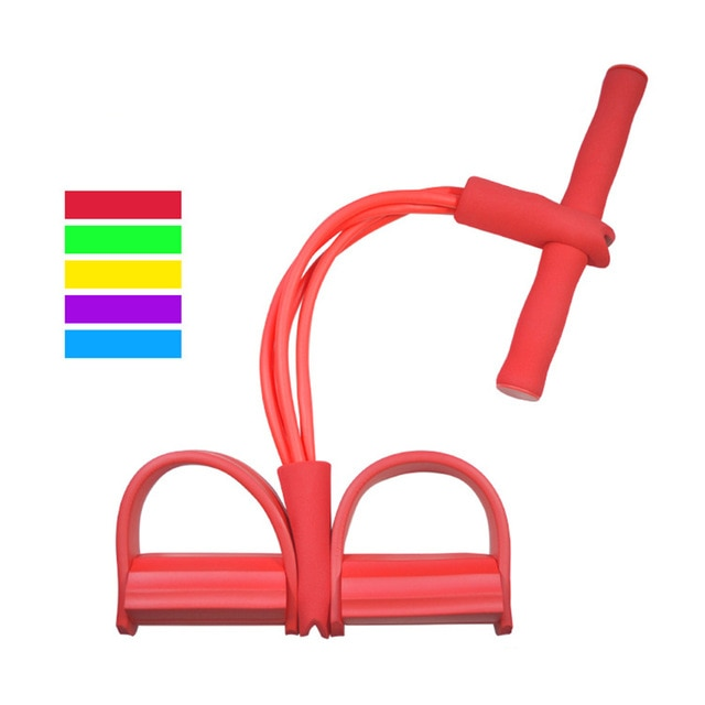 red Pull Rope Resistance Band - ShopTemptation.com
