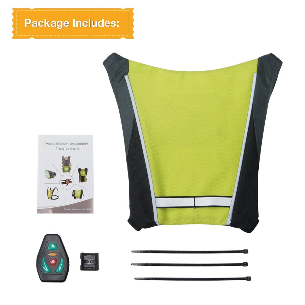 Led Vest With Direction Indicators - ShopTemptation.com