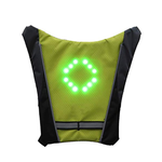 Green Led Vest With Direction Indicators - ShopTemptation.com