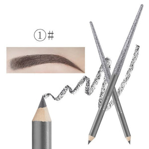 Gray Waterproof & Long Lasting 4-in-1 Brow Contour & Highlight Pen - ShopTemptation.com