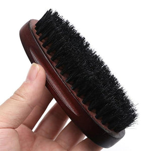 Natural Wood Beard Brush | Sustainable Earth Friendly Wood