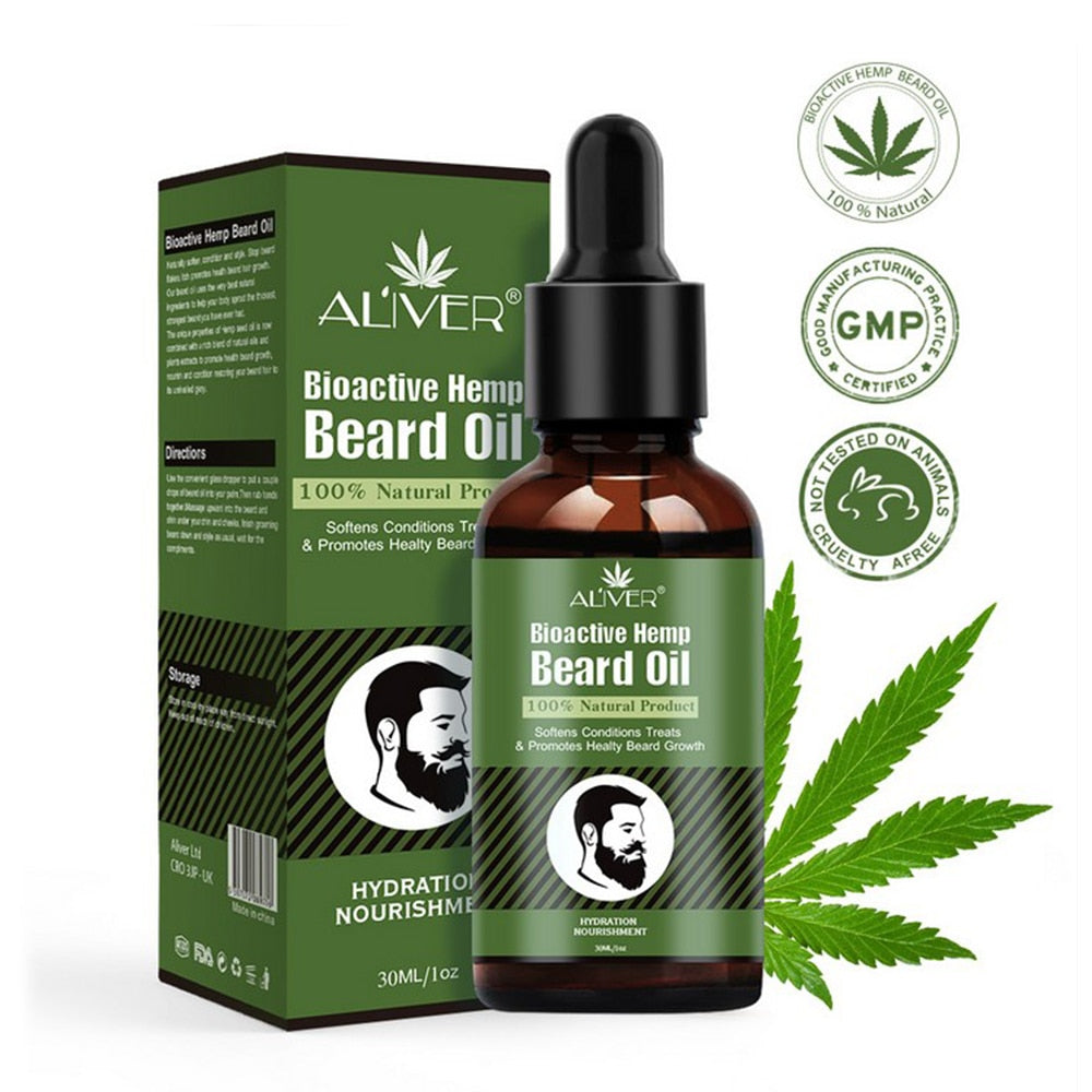Hemp Beard Oil