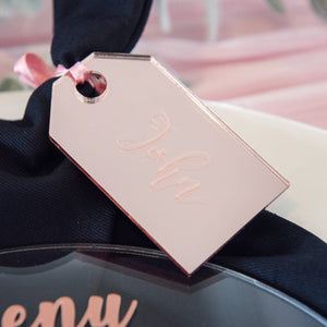 Luggage Tag Name Place Cards