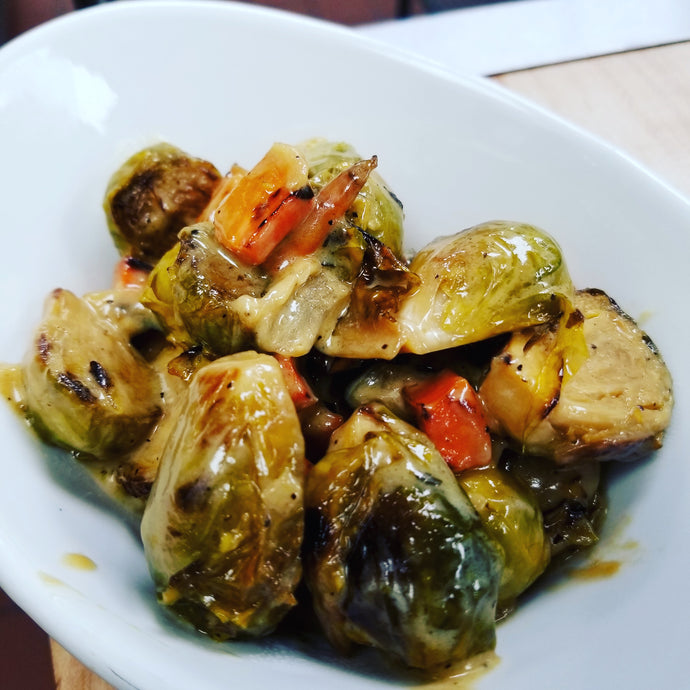 Side Dish: Roasted Brussel Sprouts