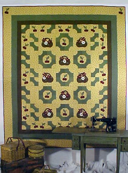 Bowties, Baskets & Cherries Quilt