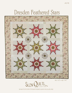 Dresden Feathered Stars (PDF Download)