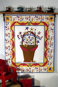 Freedom! Basket Quilt