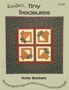 Holly Baskets