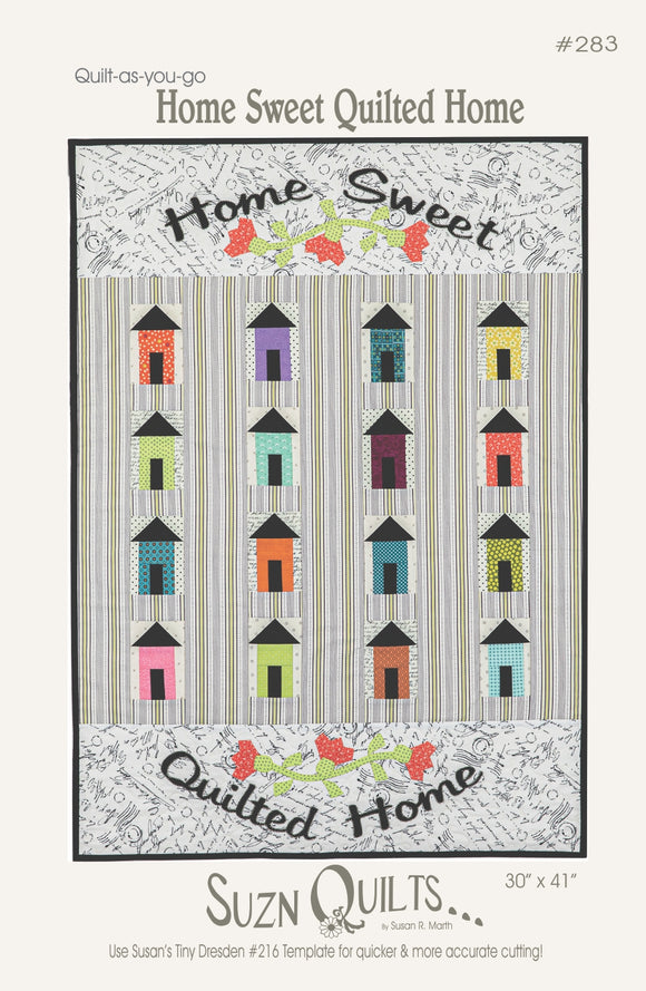 Home Sweet Quilted Home (PDF Download)