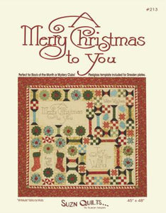A Merry Christmas to You (PDF Download)