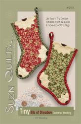 Tiny Bits of Dresden Christmas Stocking