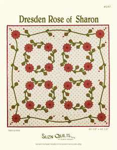 Dresden Rose of Sharon (PDF download)