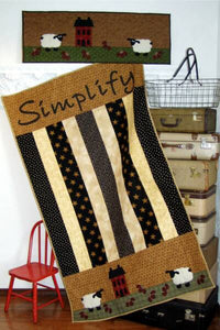 Simplify Quilt & Tablerunner
