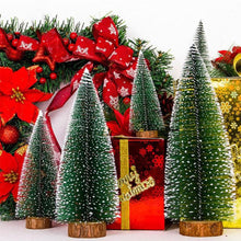 Load image into Gallery viewer, Mini Snowy Artificial Christmas Tree Home Xmas Party Desktop Window Decoration