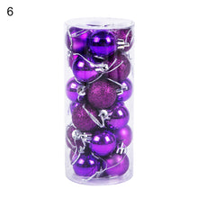 Load image into Gallery viewer, Glittering Baubles Balls Christmas Tree Ornament Xmas Party Hanging Decoration