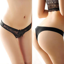 Load image into Gallery viewer, Women's Sexy Lace V-string Briefs Panties Thongs G-string Lingerie Underwear - AcornIreland