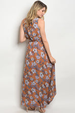 Load image into Gallery viewer, Mustard Floral Dress - AcornIreland