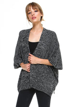 Load image into Gallery viewer, Kaii Two Tone Hanky Hem Cardigan