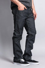 Load image into Gallery viewer, Men's Straight Fit Raw Denim Jeans (Raw Grey) - AcornIreland