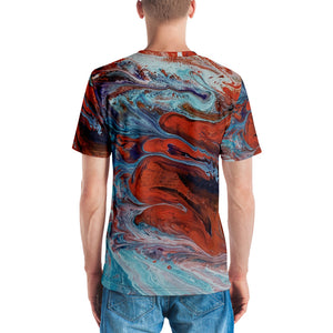 Men's Art Design T-shirt - AcornIreland