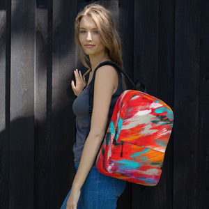 Abstract Backpack - AcornIreland