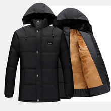 Load image into Gallery viewer, 2020 New Men Jacket Coats Thicken Warm Winter Windproof Jackets Casual Mens Down Parka Hooded Outwear Cotton-padded Jacket - AcornIreland