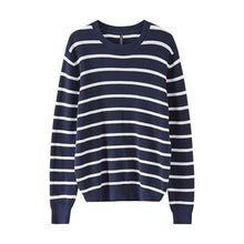 Load image into Gallery viewer, Metersbonwe Cotton Sweater Men  Autumn Winter Fashion Basic Knitted Striped Men Cotton Sweater High Quality Clothes