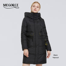 Load image into Gallery viewer, MIEGOFCE 2020 Winter New Women's Collection Coat Length Women Jacket Soft Layer Contrast Design Winter Parka Windproof clothes - AcornIreland
