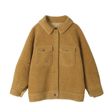 Load image into Gallery viewer, 2020 anti sheepskin coat female new loose plush coat shirt jacket